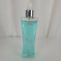 Bath & Body Works Deep Aqua Fragrance Mist Spray 8oz Discontinued 95% Full - $32.66