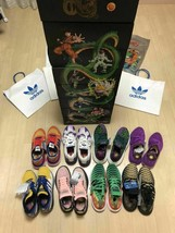 Adidas Originaux Dragon Ball Z Chaussures Collection Baskets US 8.5 Set ... - $2,565.07