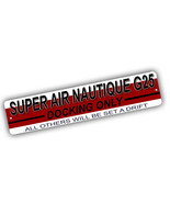 Super Air Nautique G25 Docking Only Others Adrift 4x18 in Aluminum Stree... - $17.77