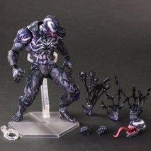 SQUARE ENIX Play Arts KAI Spiderman Venom Marvel Universe Variant Action... - $84.99