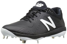 Balance Men's L4040v4 Metal Baseball Shoe,Black/White, 12 D US - $62.69