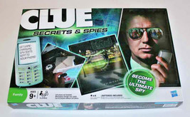 Clue Secrets and Spies Deduction Board Game (NIB) - $9.95