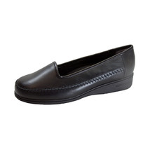 24 HOUR COMFORT Kya Women's Wide Width Comfort Leather Loafers - $44.95