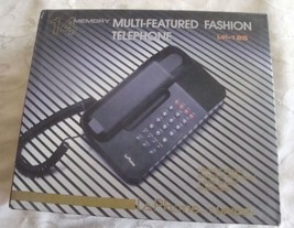 LaPhone LP125 Unical Telephone w Memory Wall  Desk Corded Land Line Pho... - $19.99