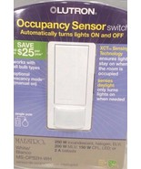 Lutron Occupancy Sensor Single Pole 2 A White Clamshell - $34.60