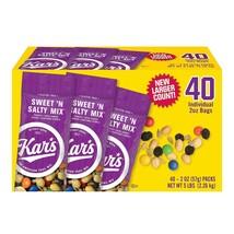 Kar's Sweet 'n Salty Mix (2 oz., 40 ct.) Bulk Office Snacks Food Service - $23.02