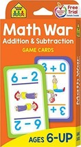 Math War Addition and Subtraction Flash Cards Home School Teachers Paren... - $4.10