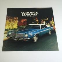 1976 Dodge Coronet Sedans, Wagons Specifications Car Auto Brochure Catalog - $7.09