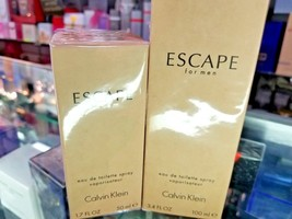 Calvin Klein ESCAPE EDT Toilette 1.7 oz 50 ml or 3.4 oz 100 ml * NEW SEA... - $53.89+