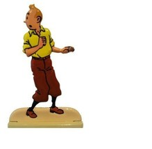 Tintin metal figurine The secret of the unicorn