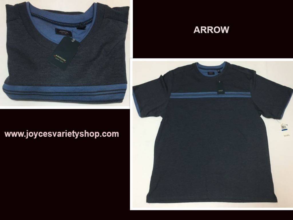 Arrow blue shirt web collage