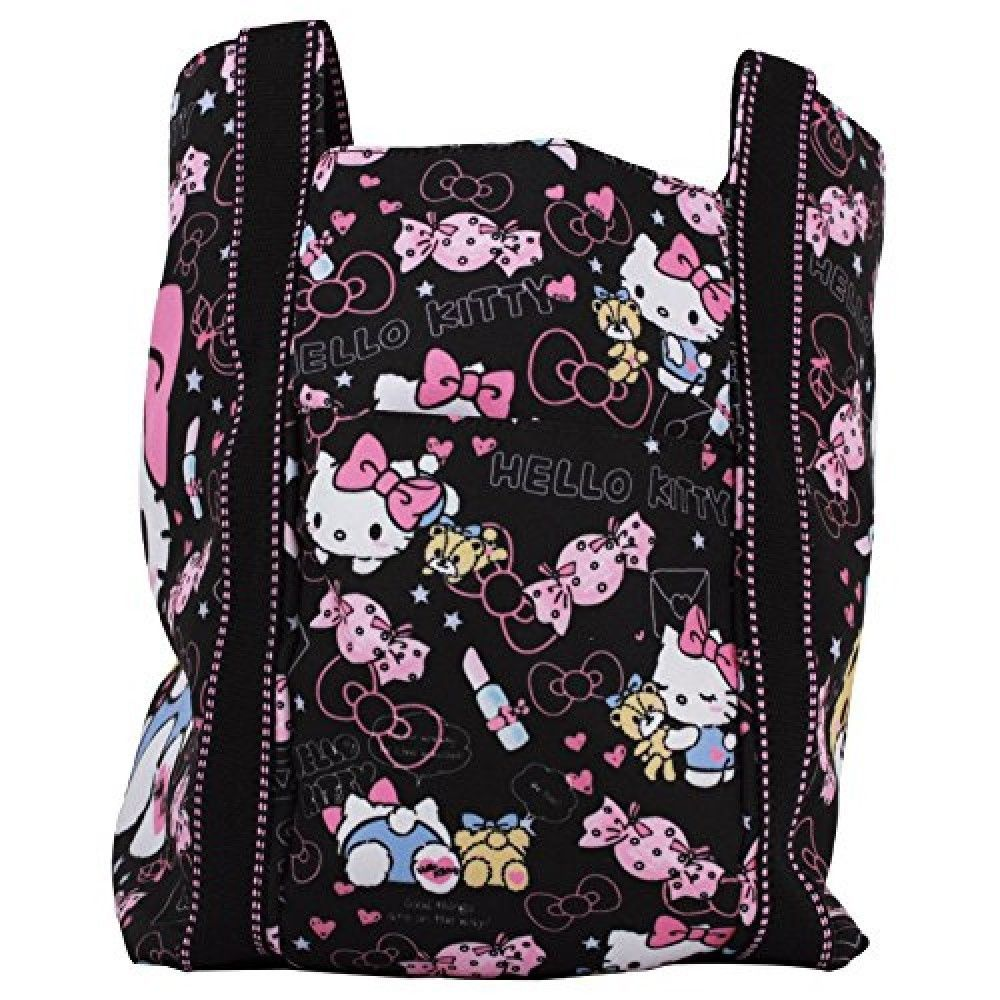 Hello Kitty baloon tote bag JAPAN Brand-New pink Kimono
