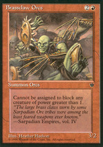 Magic: The Gathering - Fallen Empires - Brassclaw Orcs (D) - $0.25