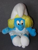 "The Smurfs: Smurfette 12"" Plush Doll Toy - $8.00"