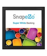 SnapeZo Black Poster Frame 36x37 Inches, 1.2 Inch Aluminum Profile, Fron... - $49.01
