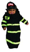 Newborn Firefighter Bunting Halloween Costume Size 0-9 Months - €22,38 EUR