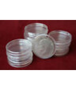 Coin silver US Dollar case Holder Display 100 Container Clear Plastic - $62.95
