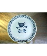 Corelle Blue Hearts Dinner Plate - $3.14