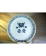 Corelle Blue Hearts Dinner Plate - $3.46