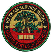 Vietnam Service Medal United States Of America Patch - $9.89