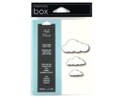 Memory Box Puffy Clouds Die Set #98172