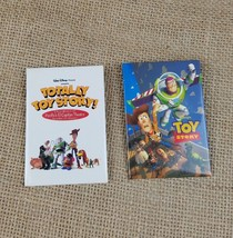 Walt Disney Toy Story promo button pin set of 2 - $17.77