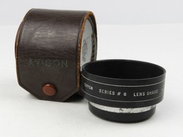 Tiffen Series #6 Lens Shade with #650 Adapter Ring for SLR camera + leat... - $18.69