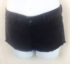 Lovesick Womens Black Disstressed Shorts Size 9 - $20.57