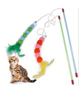 "Fantastic 41"" wand toy, perfect for interactive play with your cat! - $8.99"