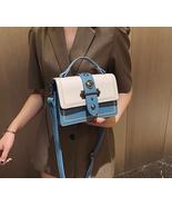 New Fashion High Quality PU Leather Women's Designer Handbag Rivet Shoulder - £29.26 GBP
