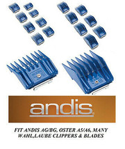 1-ANDIS AG BG UNIVERSAL Clip Guard Guide Blade COMB Fit MOST Oster,Wahl ... - $7.99+