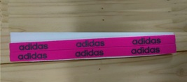 New Unisex Adidas Running HEADBAND Neon Fuchsia Adidas Logo One Size All... - $6.00