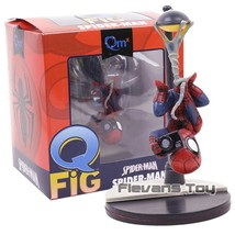 QMX Spider Man Q Fig Action Figure Marvel Comics Super Heroes Spiderman ... - $22.00