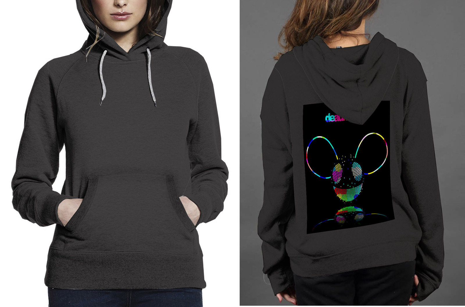 Primary image for Dead Mouse - Copy Hoodie Women's Black