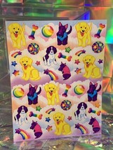 SALE⚡️S243  Lisa Frank Puppies Lab Scottie Spaniel Classic Sticker Sheet Full image 2