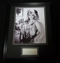 Connie Stevens Signed Framed 11x14 Photo Poster Display B - $42.18