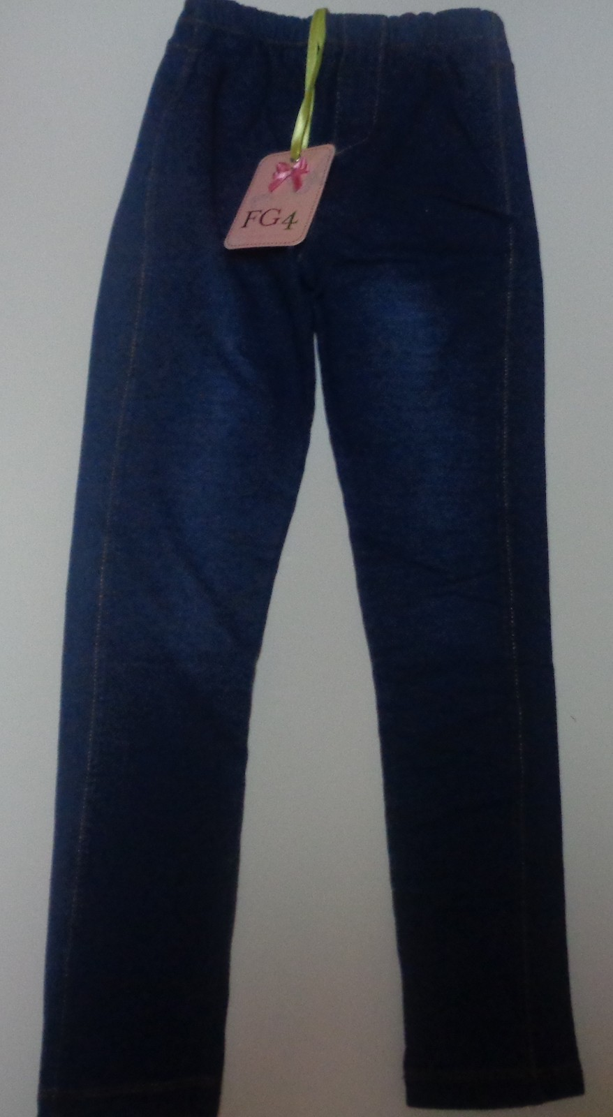 Girl's Lissy Jeggings Youth Sz 7/8 NWT Blue Jean Designed by George Davies