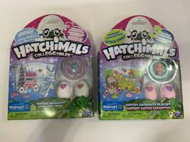 2 Hatchimals CollEGGtibles Hatchy Hangouts Polar Paradise Citrus Coast Walmart - $19.79