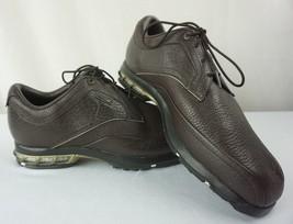 NIKE GOLF Brown Leather 379216-272 Zoom Air Tour Premium Shoes Men's Siz... - $49.95