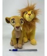 "Disney Junior Plush The Lion Guard Simba & Nala Small Stuffed Toys 7"" an... - $20.00"