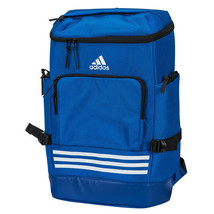 Adidas KOR OPS Backpack Football Sports Bags Casual School Travel Blue C... - $76.99