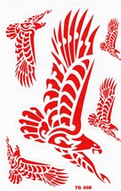 D415 Eagle Wing Bird Sticker Decal Racing Tuning Size 27x18 cm / 10x7 inch - $3.49