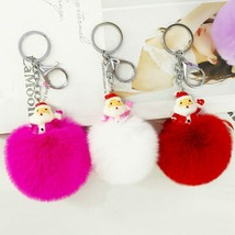 VOILEY® Christmas Ornaments Gift Santa Claus Keychain Pendant New Year C... - $4.42+