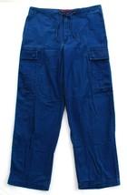 Tommy Hilfiger Tommy Jeans Blue Cotton Cargo Pants Men's NWT - $37.49