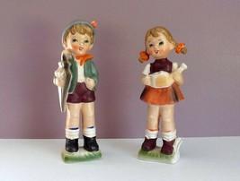 Brinn's Boy & Girl Figurines Pittsburg, PA Made In Japan Original Labels... - $29.69