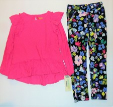 Genuine Kids From OshKosh Toddler Girls 2pc Pink Floral Outfit Size 5T NWT - $20.36
