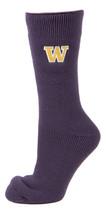 University of Washington Licensed Purple Thermal Socks - $17.95