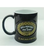 Hoyo de Monterrey Cigars Coffee Mug Cuba Honduras Jose Gener 12oz Excalibur - $9.05