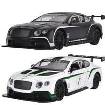 Bentley Continental GT3 1:24 Metal Diecast Vehicle Car Model Kid Toy Bla... - $34.99