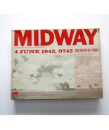 Vintage 1964 Avalon Hill MIDWAY 4 June 1942, 0745 Naval Battle Board Gam... - $34.99